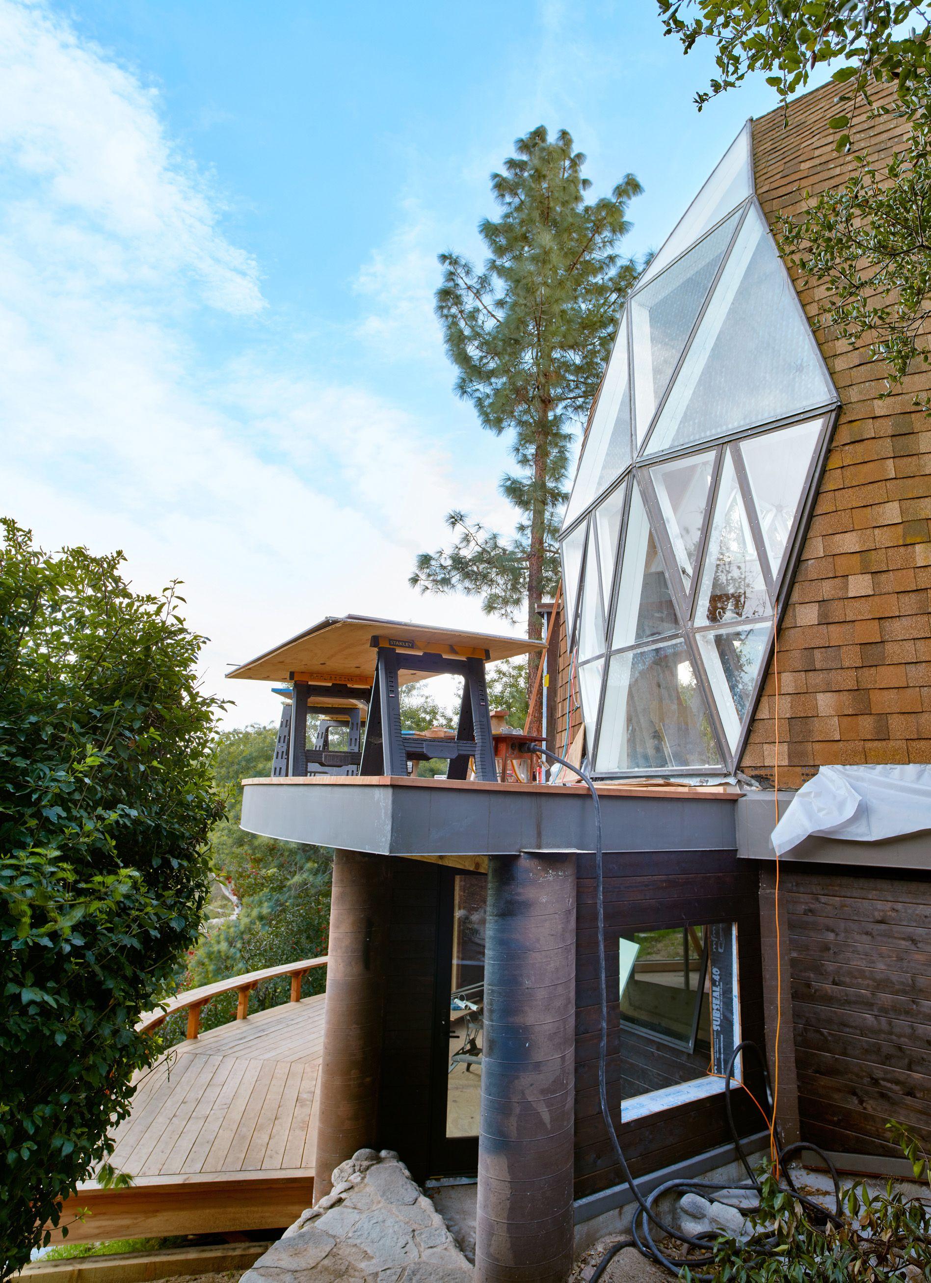 Inside Hatmaker Nick Fouquet's Extraordinary 1970s Geodesic-Dome House