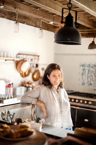 annette joseph in la fortezza kitchen