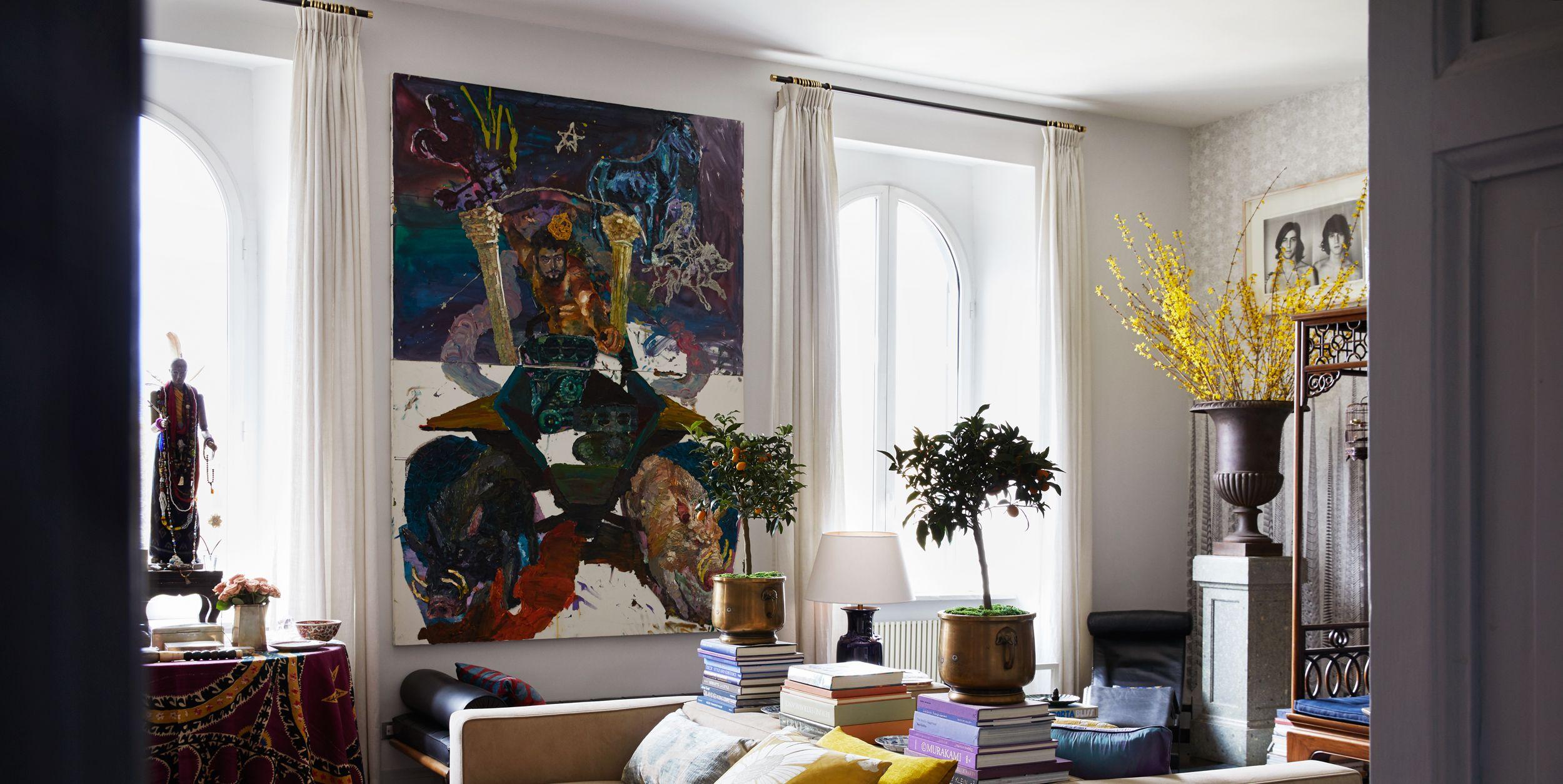 Carlos Souza's Rome Apartment Shows His Lifelong Love of Travel