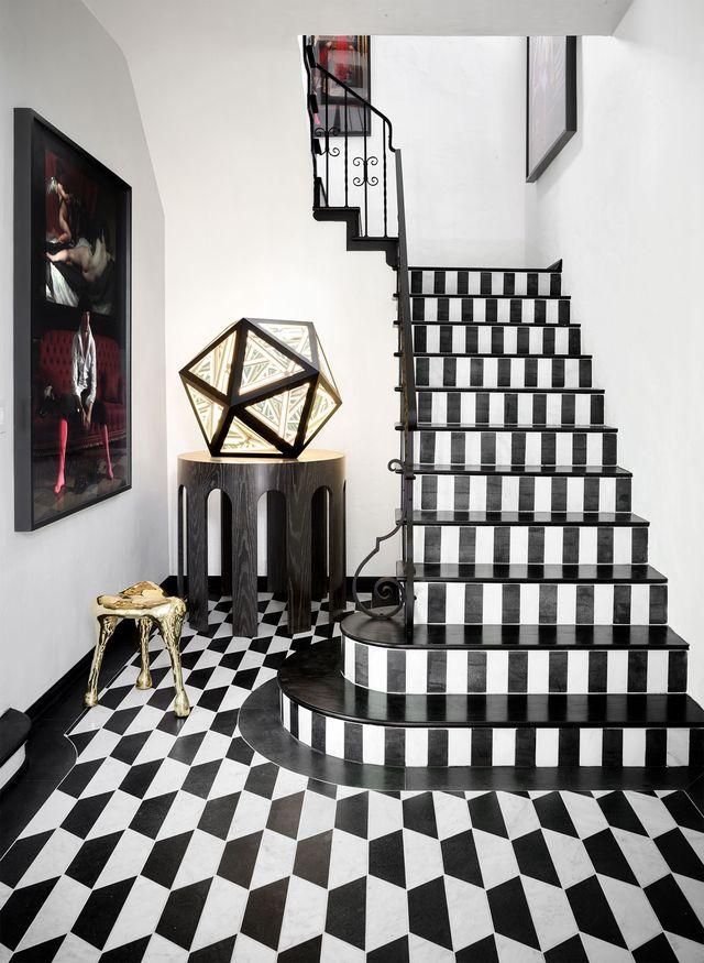 italian flooring  elle decor