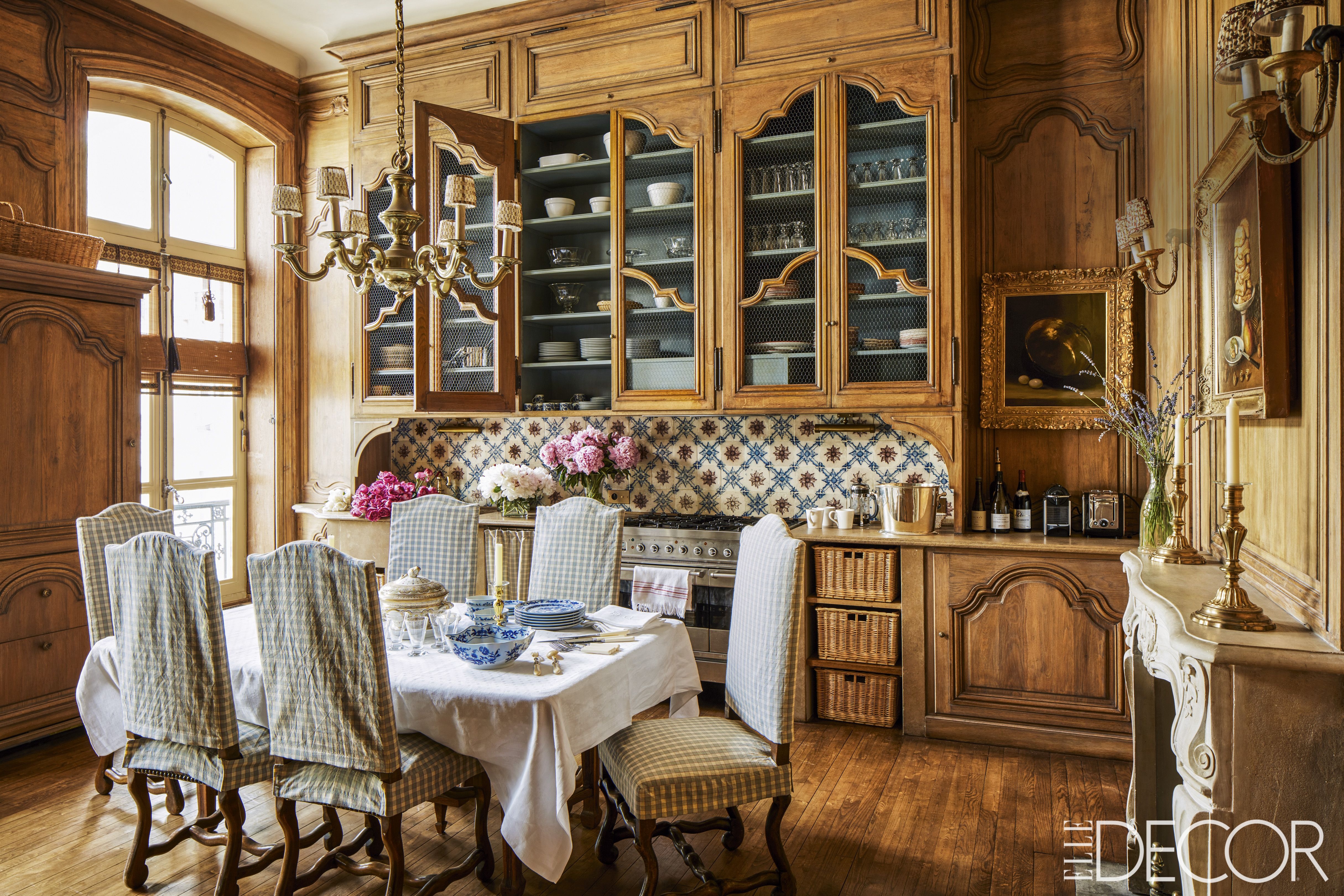 french country style interiors rooms with french country decor rh elledecor com Facebook Design House Decor Design Office House