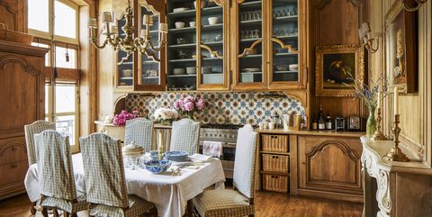 French Country Style Interiors - Rooms with French Country Decor