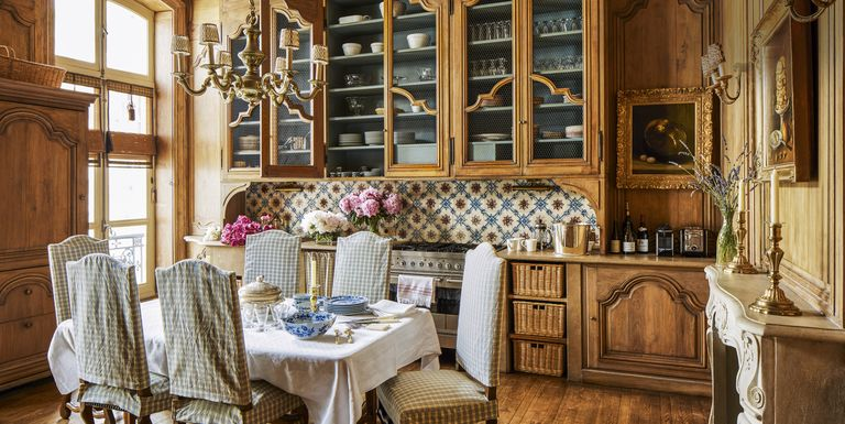 Country Interior Decorating Ideas: French Country Style Interiors