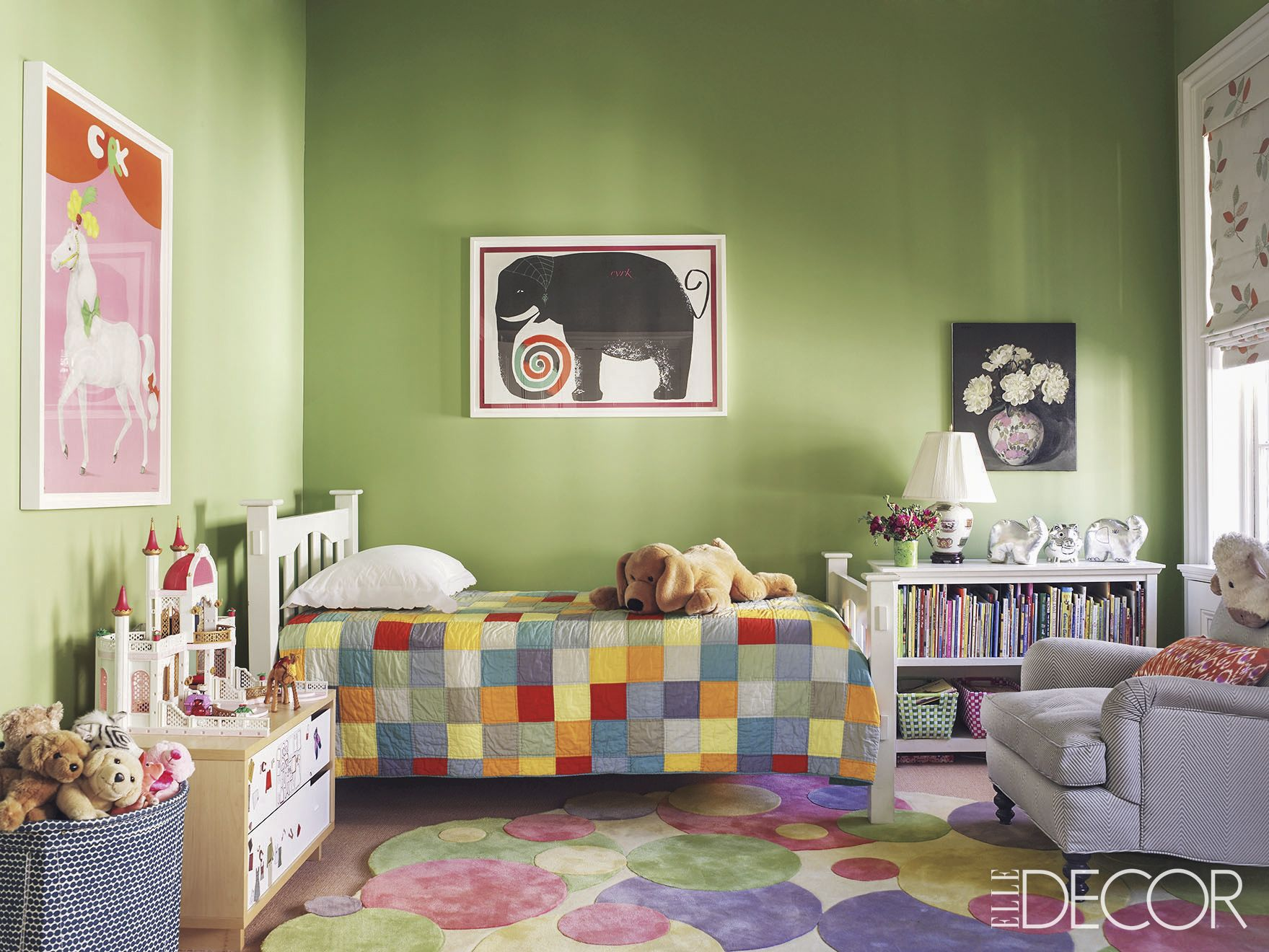 18 cool kids room decorating ideas kids room decor rh elledecor com Pottery Barn Kids kids room picture wall