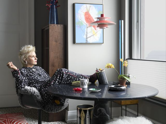 Qvc Star Lori Goldstein S Tribeca Apartment Is Fearlessly