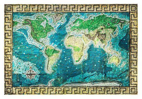 Mosiac map