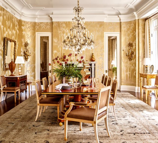 cullman and kravis opulent new jersey dining room