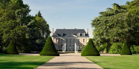 french chateau with landscape design by louis benech