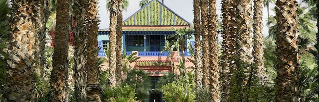 Inside Yves Saint Laurent S Home In Marrakesh Private Tour Of