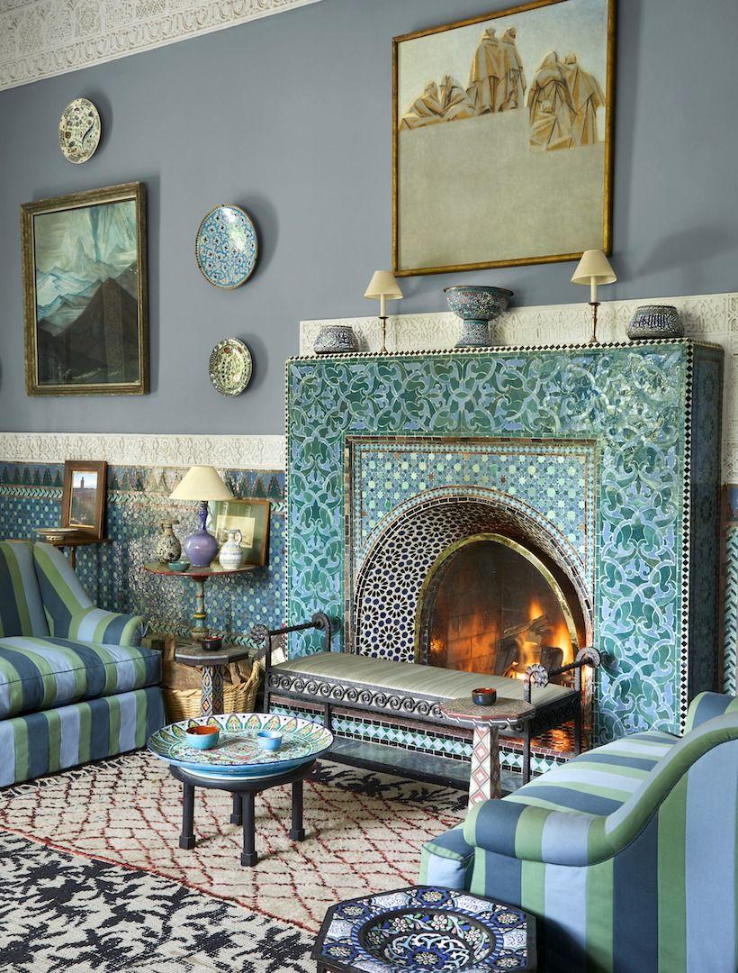 Inside Yves Saint Laurent S Home In Marrakesh Private