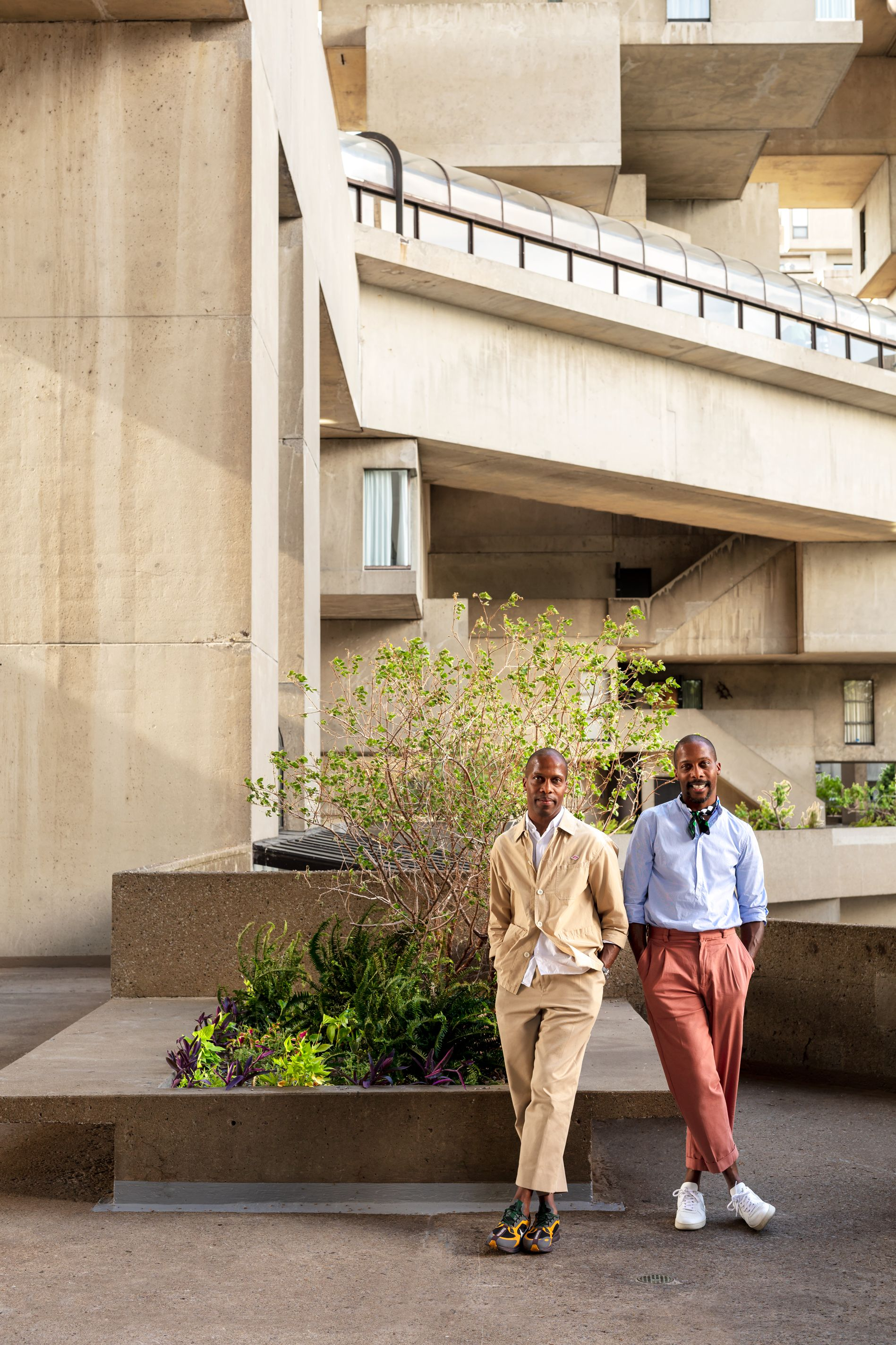 See How These Identical Twins Live in Montreal's Famed Brutalist Apartments