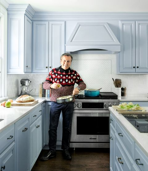Chef Daniel Boulud S New Home Kitchen Renovated Country Kitchen