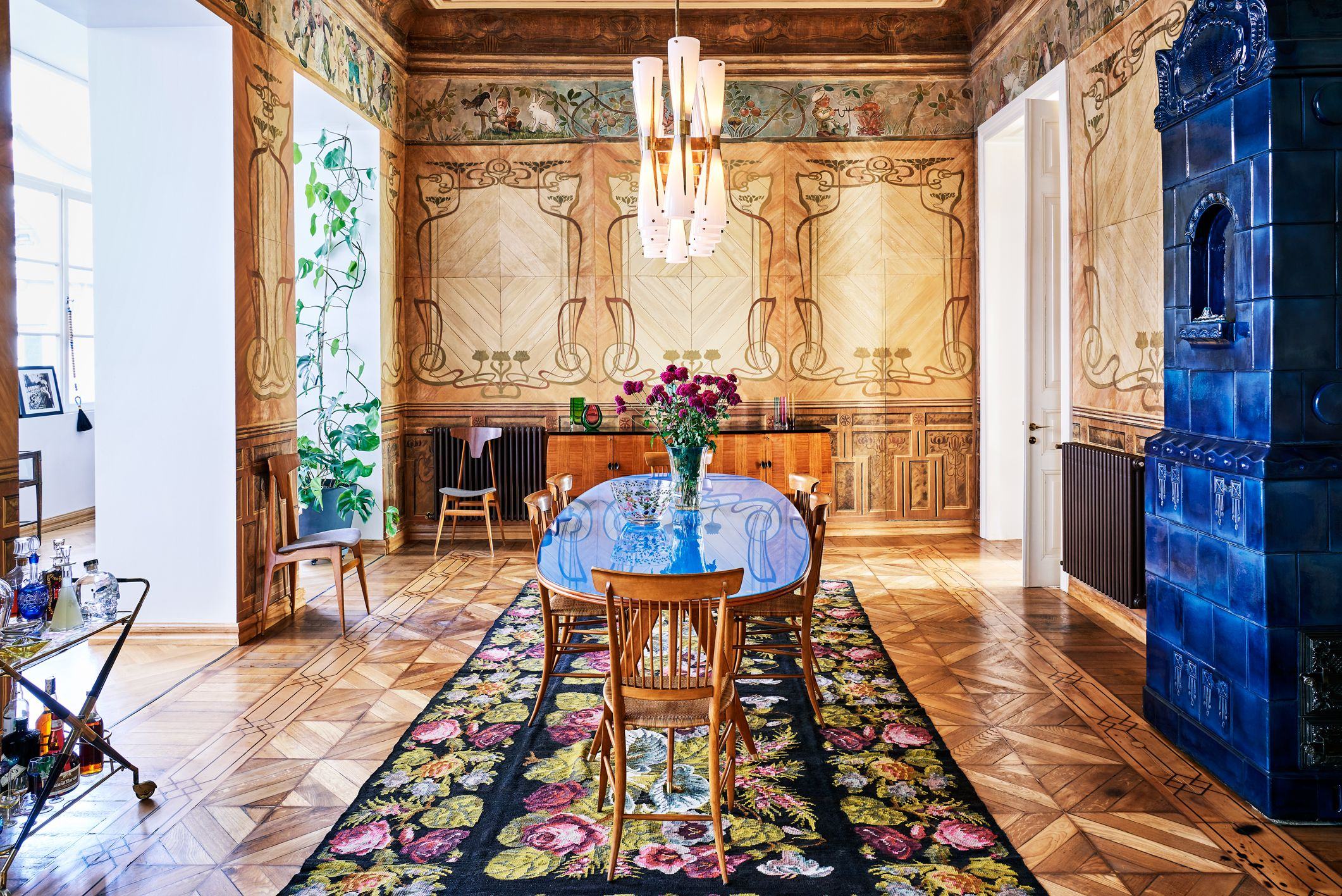 A Native Daughter of Tbilisi Turns an Art Nouveau Gem Into a Showpiece Home