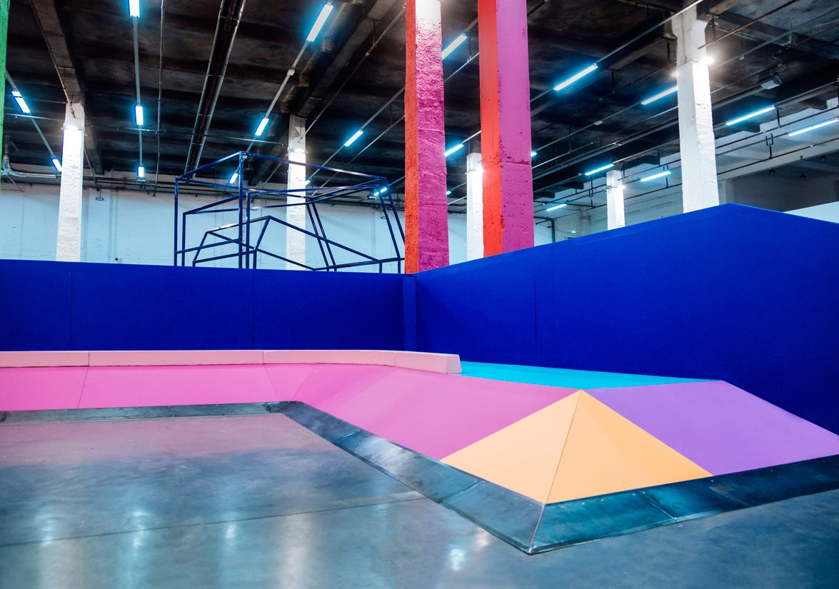 British Designer Yinka Ilori Deploys Joyful Colors in a New French Skate Park