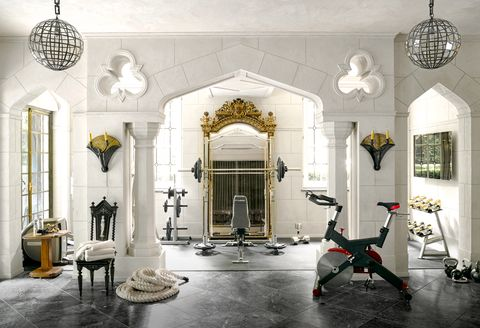 home gym design  latest trends in home workout spaces