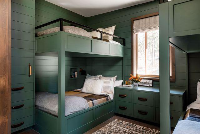 builtin beds  elle decor