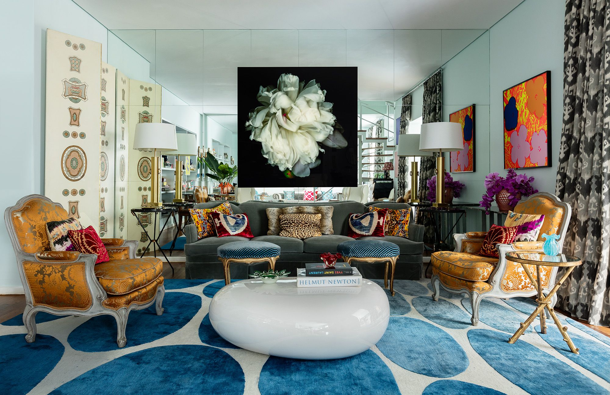 Classic Living Room Rug Ideas Concept