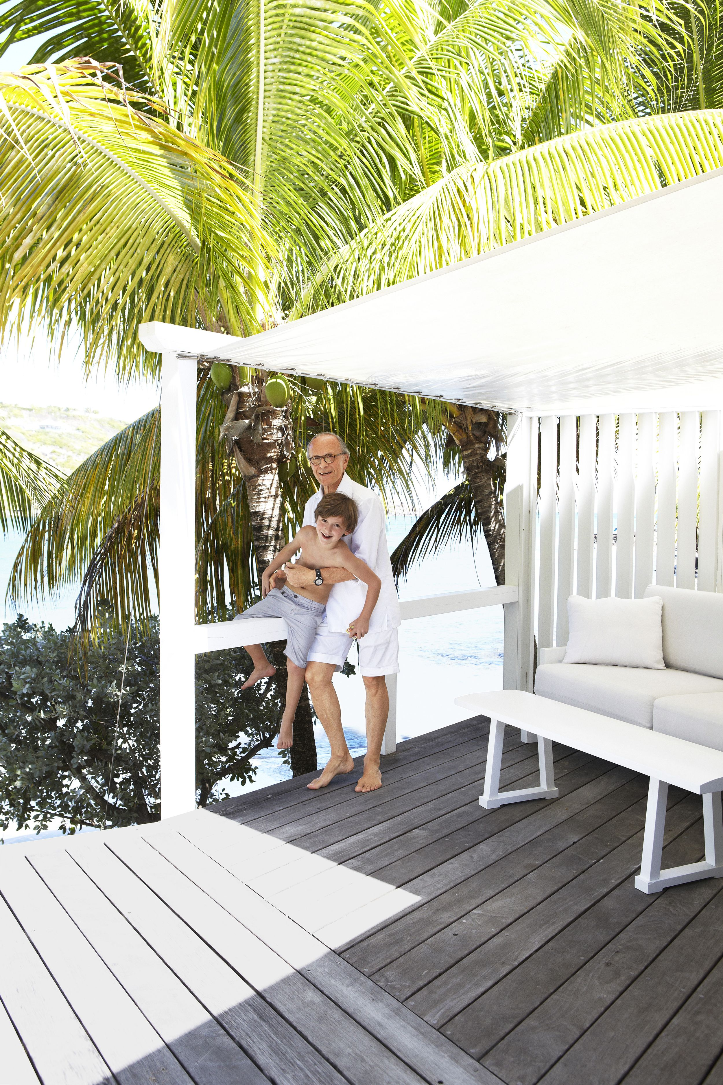 This Simple Beach House Was Designer Christian Liaigre's St. Barts Home