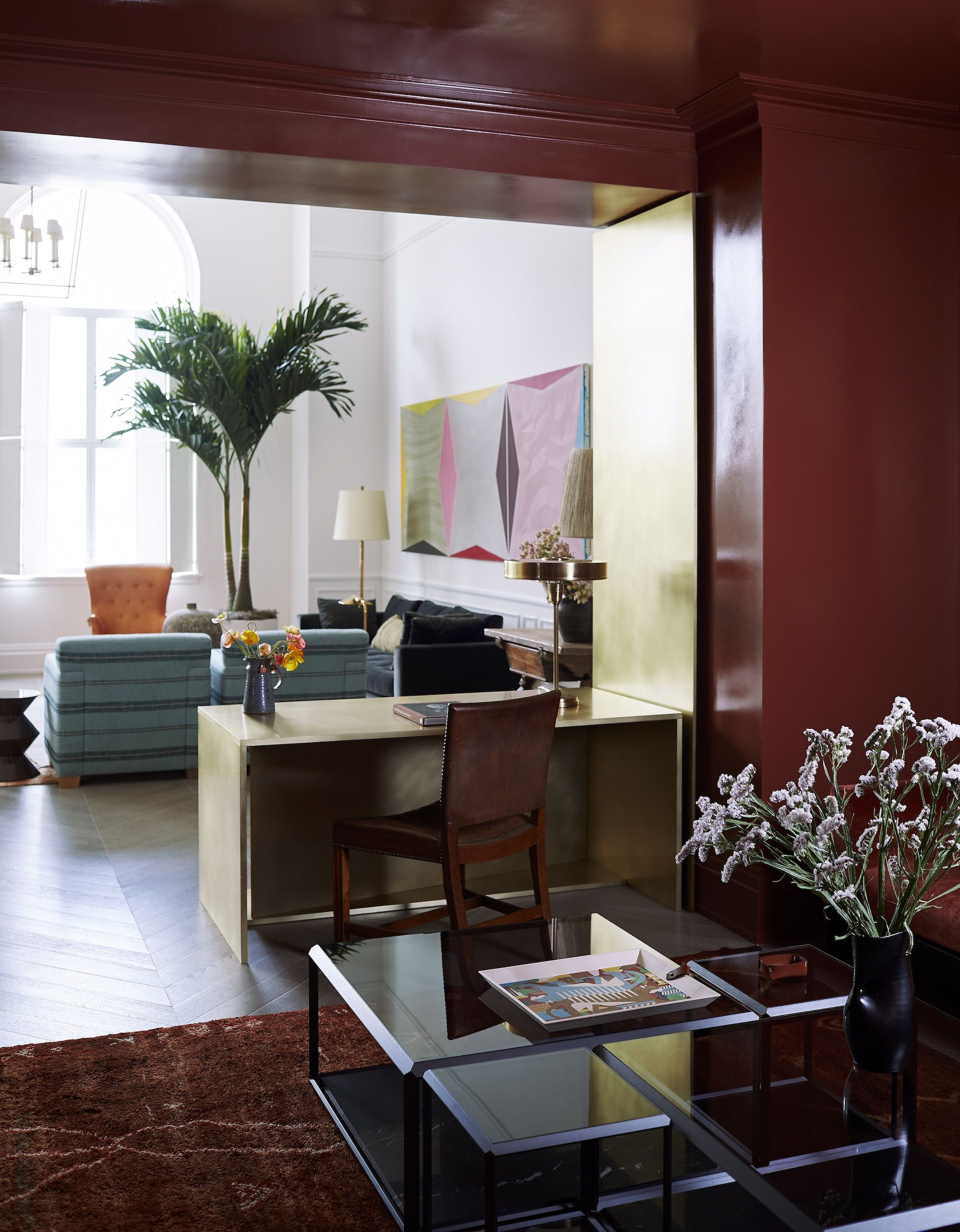 How This A-List Interior Designer Transformed a Luxury Manhattan Penthouse With Color