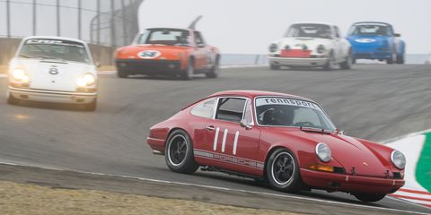 Land vehicle, Vehicle, Car, Porsche 912, Porsche 911 classic, Regularity rally, Coupé, Race track, Motorsport, Racing,