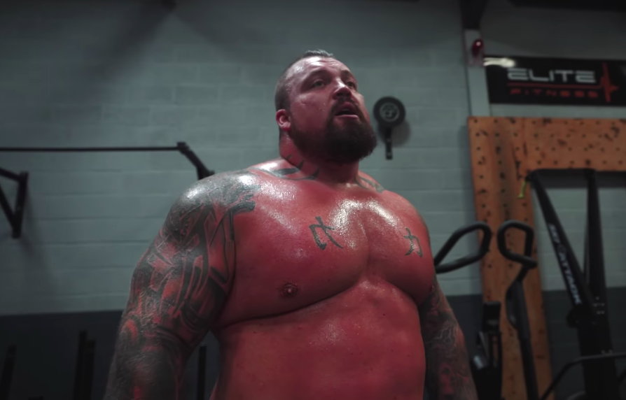 Eddie Hall Just Revealed the Rest Day Cardio Routine He's Using to Get Fight Ready