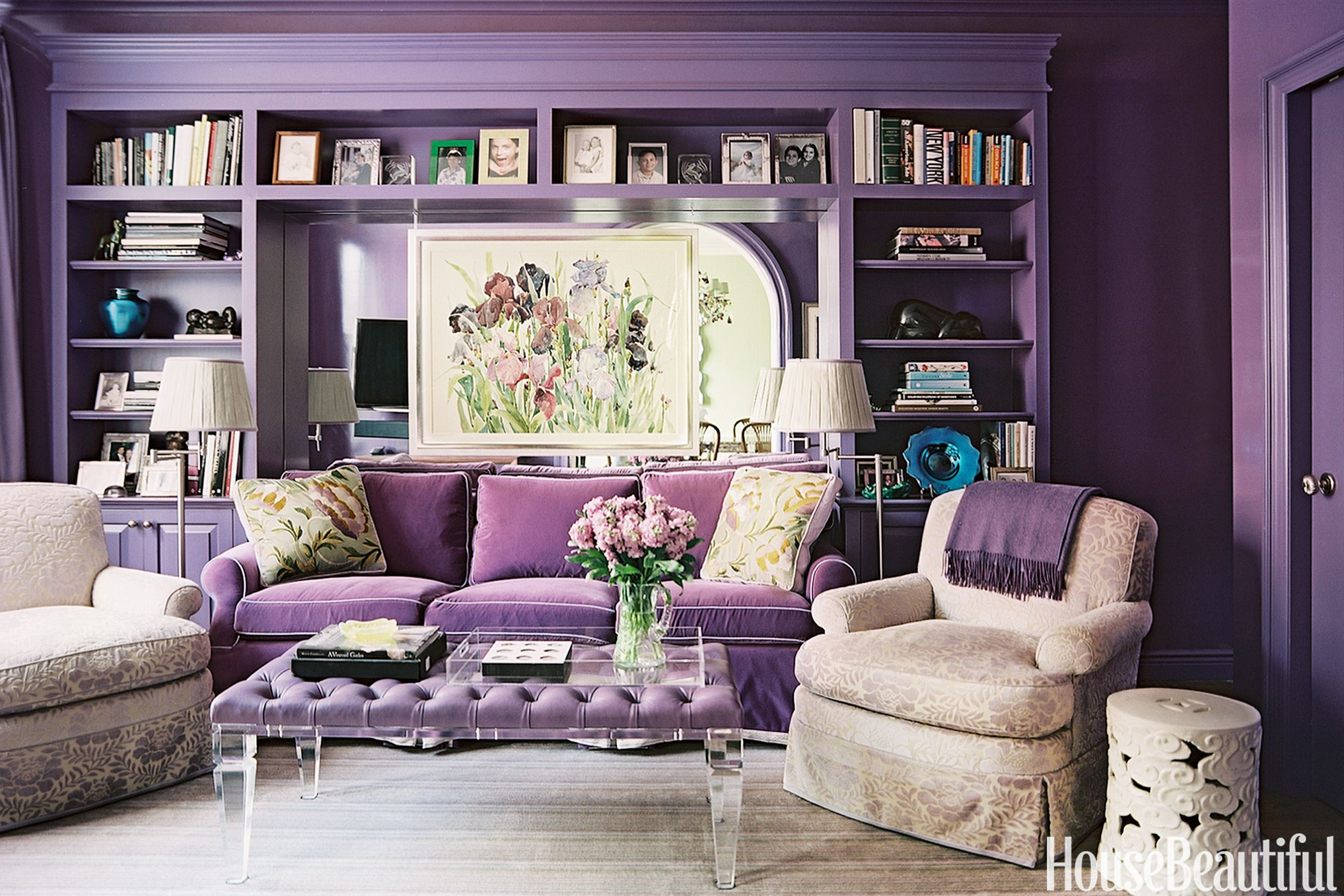 20 Best Purple Rooms And Decor   Lavender, Lilac And Violet Decorating Ideas