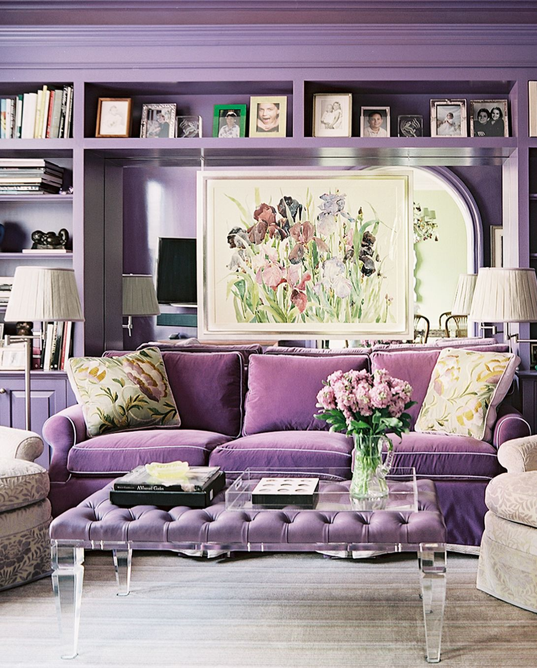 Best Purple Rooms And Decor Lavender Lilac And Violet