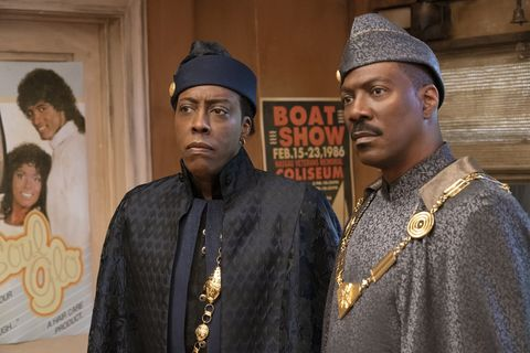 arsenio hall and eddie murphy in coming 2 america