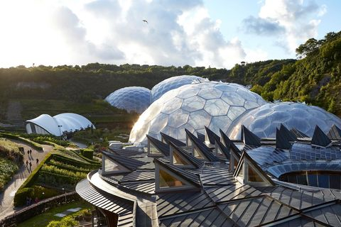 Así es el proyecto Edén: el invernadero más grande del mundo.