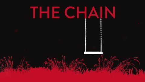 portada de la novela the chain