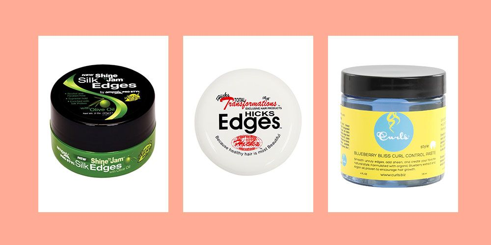 11 Best Edge Control Products For Black Hairstyles Edge Control