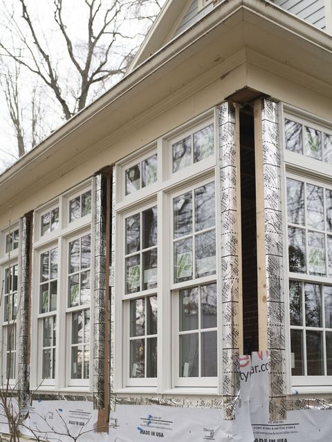 How To Enclose A Screened In Porch Before And After Photos Of Closing In Porch