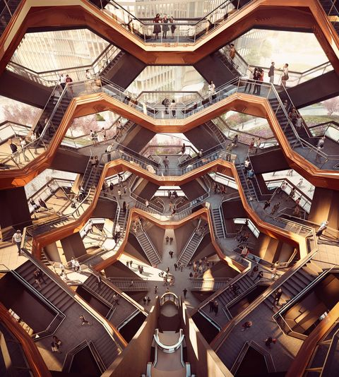 Proyecto Vessel del estudio Heatherwick