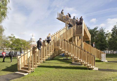 Proyecto Endless Stairs del estudio drmm