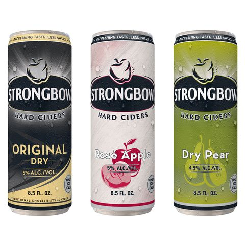 Strongbow Hard Ciders 100 Cal Slim Cans
