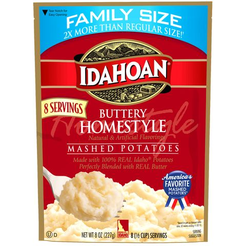Idahoan Family Size Flavored Mashed Potatoes