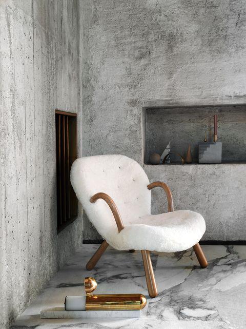 interieurtrends 2019 - wol wit gezellig interieur