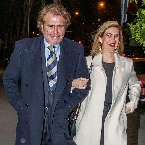 Edmundo Arrocet se va de cena con su nueva amiga