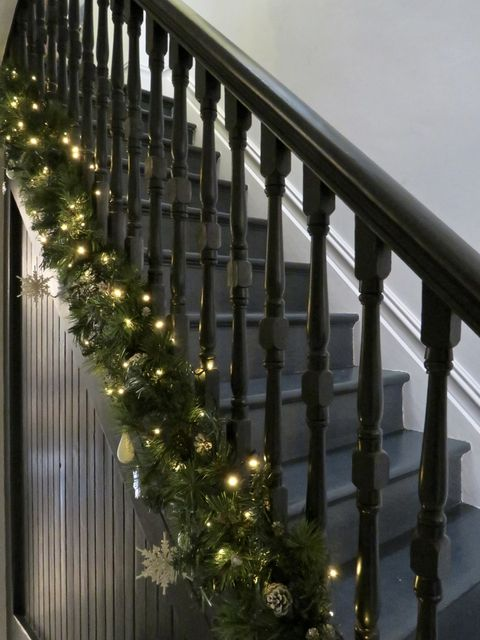 best christmas staircases