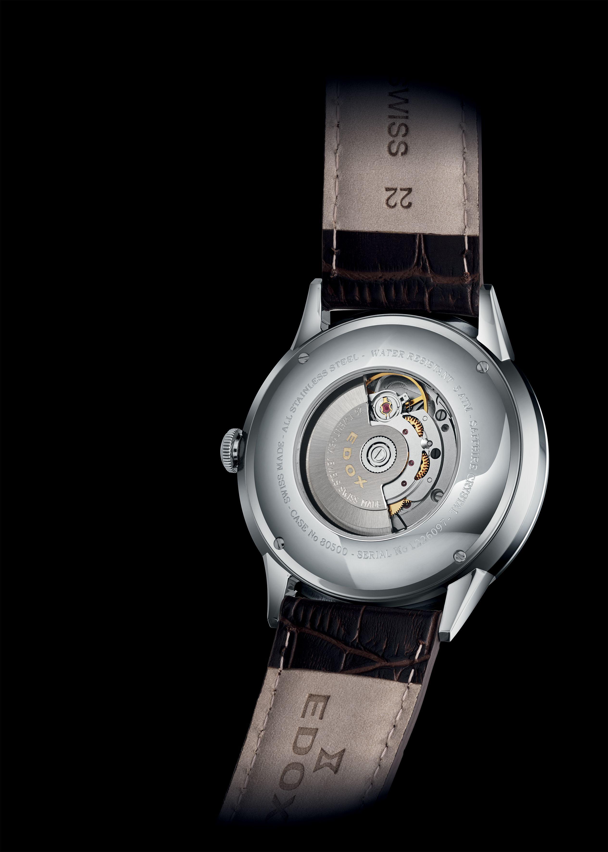 Horloge | Edox: een subtiel heren horloge