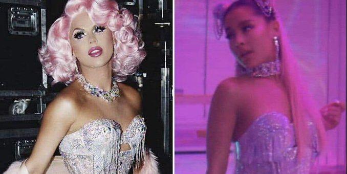 Drag Queen Farrah Moan Accuses Ariana Grande of Stealing Her Look in