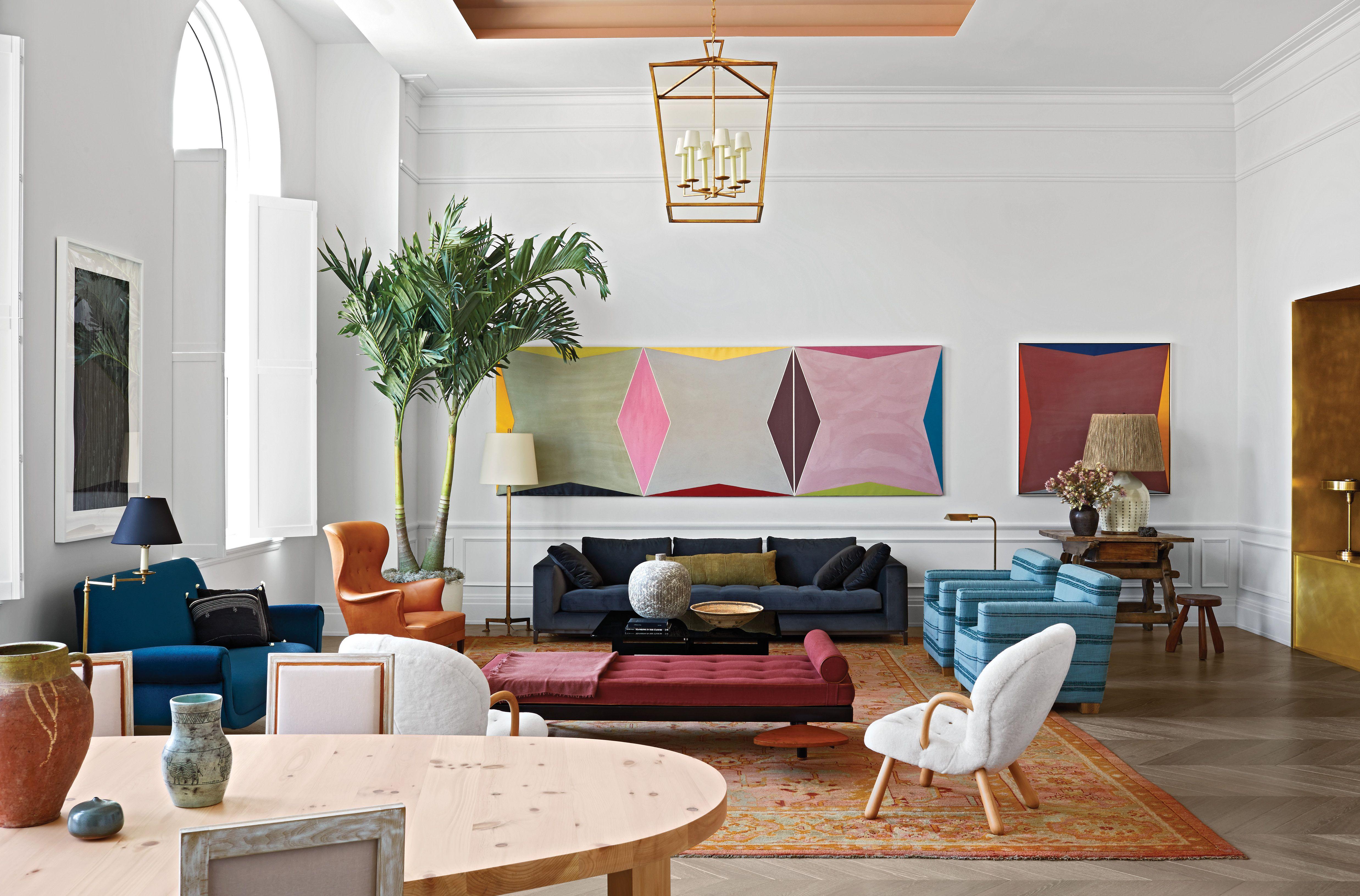 Elle Decor Interior Designers tour the 108 leonard house of elle decor - elle decor 30th