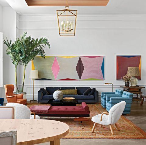 Elle Decor Living Room.Tour The 108 Leonard House Of Elle Decor Elle Decor 30th