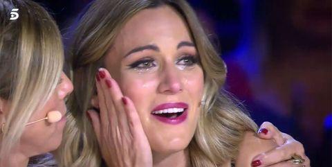 Edurne llora en 'Got Talent'