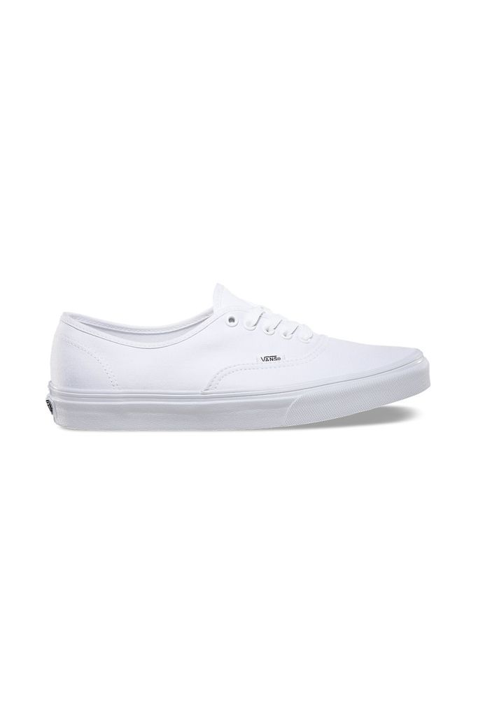 These White Kicks Vans, $50 SHOP IT Your old white shoes were dirty anyways—swap them for a clean pair.