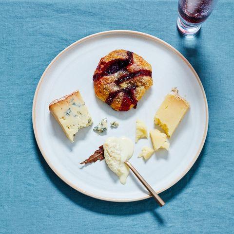 Eccles cake met kaas