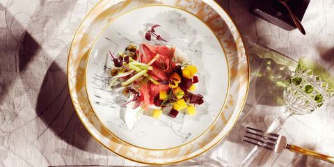 Dish, Cuisine, Food, Ingredient, Recipe, Vegetarian food, Radicchio, Produce, Vegetable, Salad,