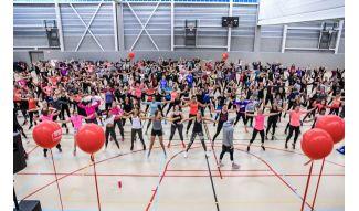 Dance, Event, Performing arts, Physical fitness, Aerobics, Majorette (dancer), Performance, Dodgeball, Sports, Talent show,