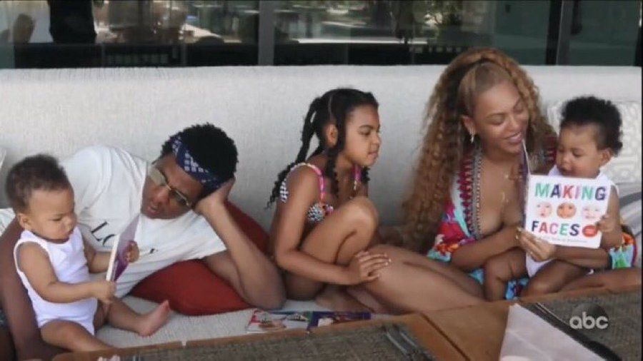 Beyoncé's Kids Blue Ivy and Twins Sir and Rumi Carter Were Scene-Stealers in Her 'Making The Gift' Special