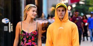 Eerste foto Justin en Hailey Bieber